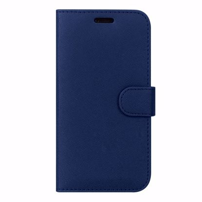 Picture of Case FortyFour Case FortyFour No.11 Case for Apple iPhone 8/7 in Cross Grain Dark Blue
