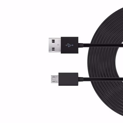 Picture of Just Wireless Just Wireless 3.0m Micro USB Charge and Sync Cable in Black