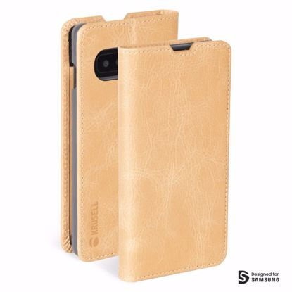 Picture of Krusell Krusell Sunne 2 Card Folio Wallet Case for Samsung Galaxy S10 in Vintage Nude