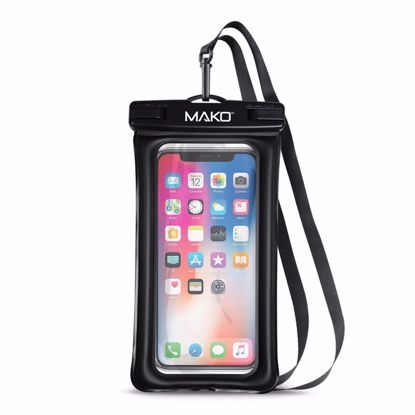 Picture of Mako Mako Waterproof Pouch up to 6.5in in Black