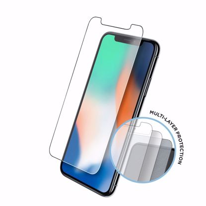 Picture of Eiger Eiger Tri Flex High-Impact Film Screen Protector (2 Pack) for Apple iPhone 11 Pro/XS/X in Clear