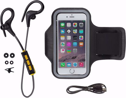 Picture of KitSound KitSound Race Bluetooth Sport Earphones and Sports Armband Kit in Black