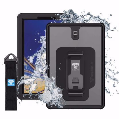 Picture of Armor-X Armor-X MX Series Case for Samsung Galaxy Tab S4 10.5 in Black