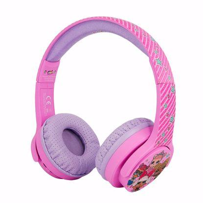 Picture of OTL OTL LOL Surprise Glitterati Club Junior Headphones in Pink