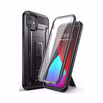 Picture of i-Blason i-Blason Supcase UB Pro with Screen Protector for Apple iPhone 12/12 Pro in Black