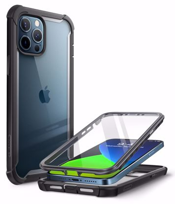 Picture of i-Blason i-Blason Ares Full Body Case with Screen Protector for iPhone 12 Pro Max in Black